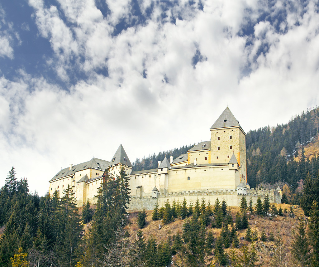 Фото: Замок Моосхам, Австрия