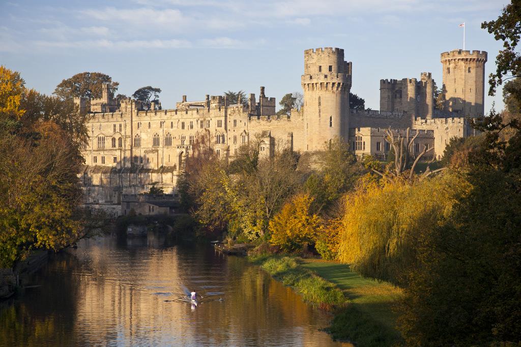 Фото: Уорикский замок, Англия