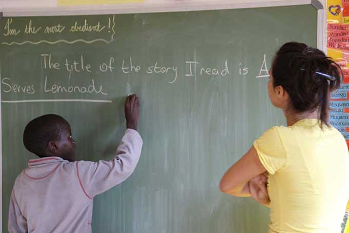 """NAMIBIA: PROGETTO """"UNA SCUOLA, UNA FAMIGLIA"""""""