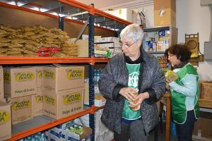 volontari ADRA Bologna all'opera