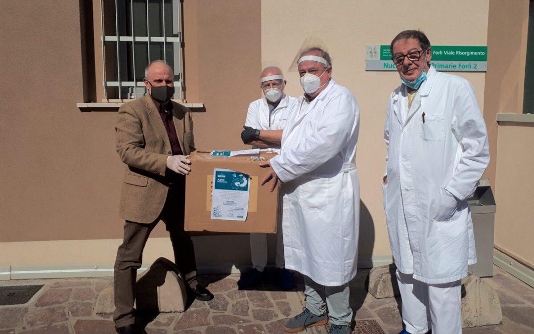Forlì: consegnate 5.000 mascherine ai medici di base