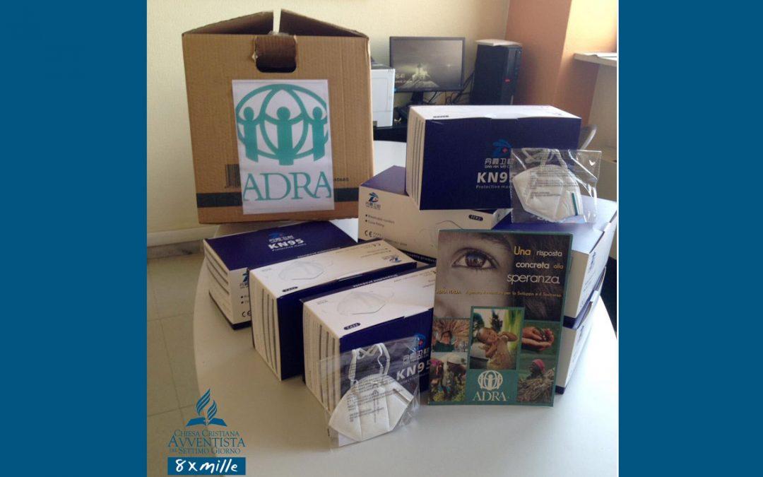 La Chiesa Avventista consegna 400 mascherine al reparto rianimazione dell'Ospedale Maggiore di Parma