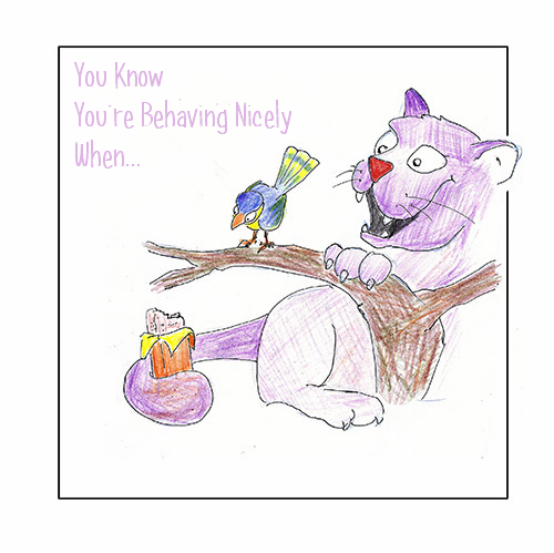 You Know You're Behaving Nicely When… – illustrated by Yehuda Hilman by Mel Rosenberg - מל רוזנברג - Illustrated by Yehuda Hilman - Ourboox.com