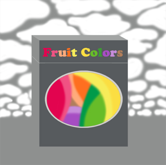 """The postman brought me a package that said """"Fruit Colors"""""""