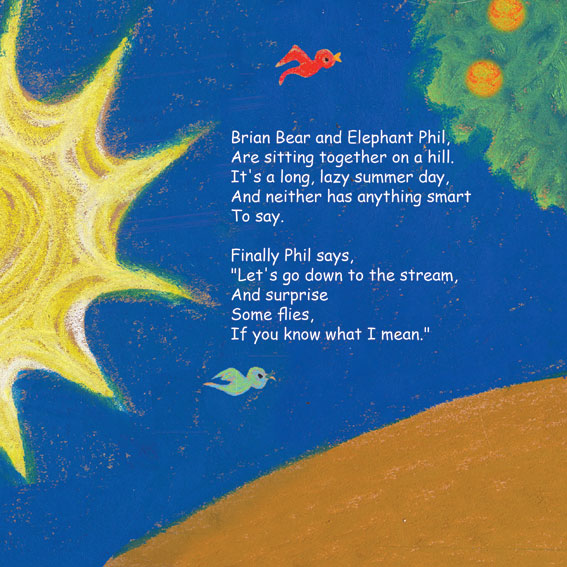 Brian, Phil and a Fish Named Flo. Illustrations – Rotem Omri by Mel Rosenberg - מל רוזנברג - Illustrated by Rotem Omri  - Ourboox.com