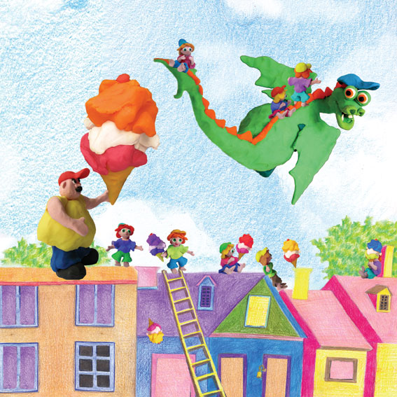 The Smell Dragon. Illustrations – Rotem Omri by Mel Rosenberg - מל רוזנברג - Illustrated by Rotem Omri  - Ourboox.com