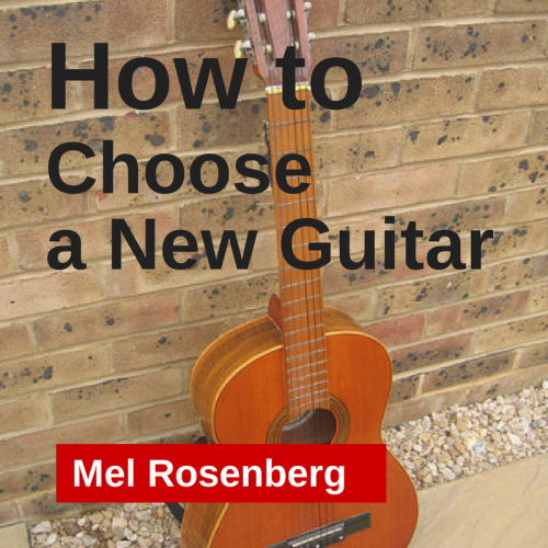 Artwork from the book - Mel's Ten Tips on How to Choose a New Guitar by Sixties Course, Mel Rosenberg - Ourboox.com