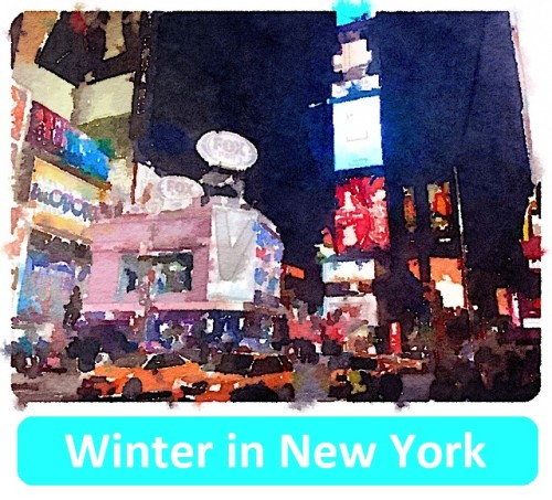 Winter in New York by Jeff Pulver - Illustrated by Jeff K. Pulver - Ourboox.com