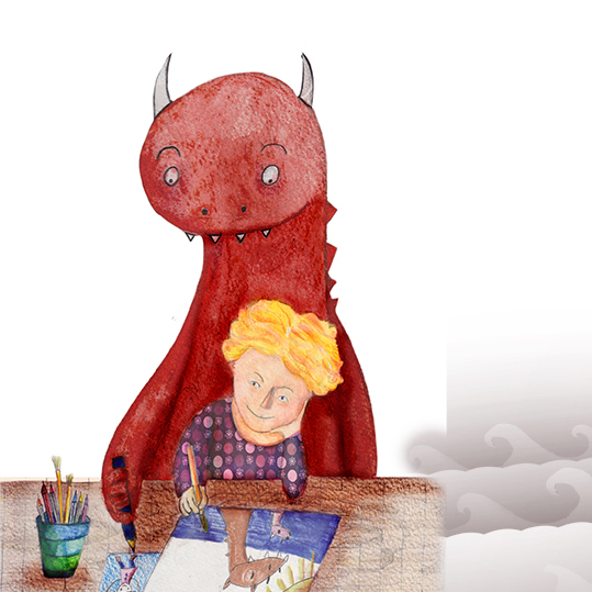 Ponzo of the Laughing Lake, illustrated by Daniella Koffler by Shlomit Cohen-Assif - Illustrated by Daniella Koffler - Ourboox.com