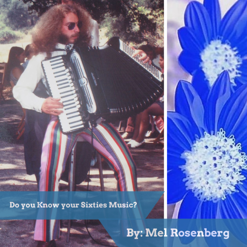 Do you Know your Sixties Music? by Sixties Course, Mel Rosenberg - Illustrated by Book Cover: Miki Peled - Ourboox.com