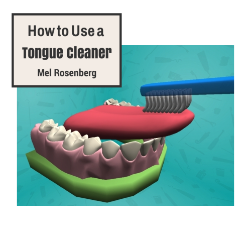 How to Use a Tongue Cleaner by Mel Rosenberg - מל רוזנברג - Ourboox.com