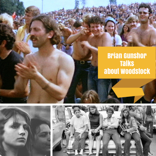 Artwork from the book - Brian Gunshor Talks about Woodstock by Sixties Course, Mel Rosenberg - Ourboox.com