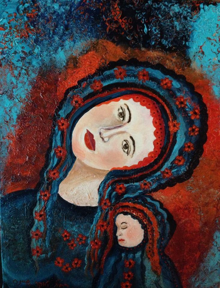 Body Mind Spirit – Paintings by Rachel Tucker Shynes - Illustrated by רחל טוקר שיינס/Rachel  Tucker Shynes  - Ourboox.com