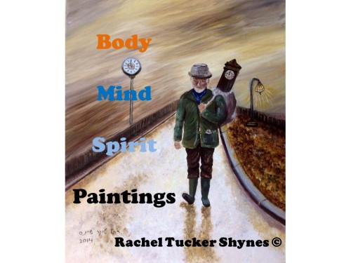 Artwork from the book - Body Mind Spirit – Paintings by Rachel Tucker Shynes - Illustrated by רחל טוקר שיינס/Rachel  Tucker Shynes  - Ourboox.com
