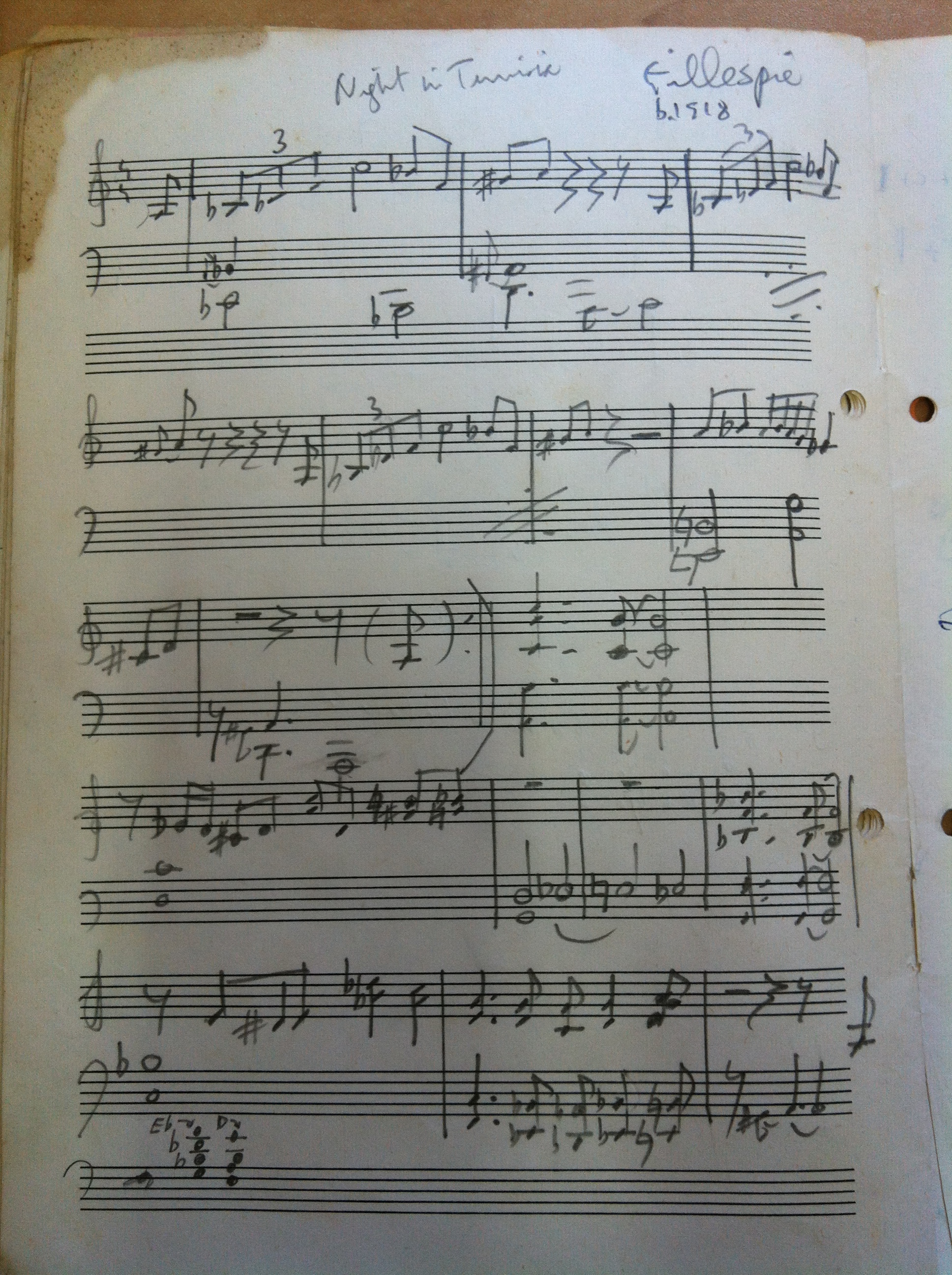 Artwork from the book - My Jazz Teacher by Mel Rosenberg - מל רוזנברג - Ourboox.com