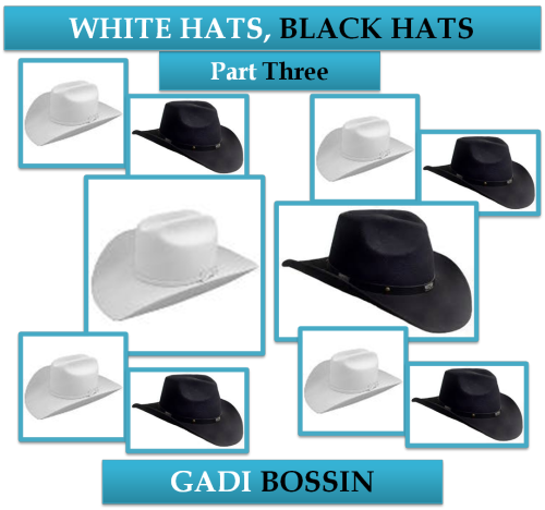 White Hats, Black Hats: Part Three by Gadi Bossin - Ourboox.com
