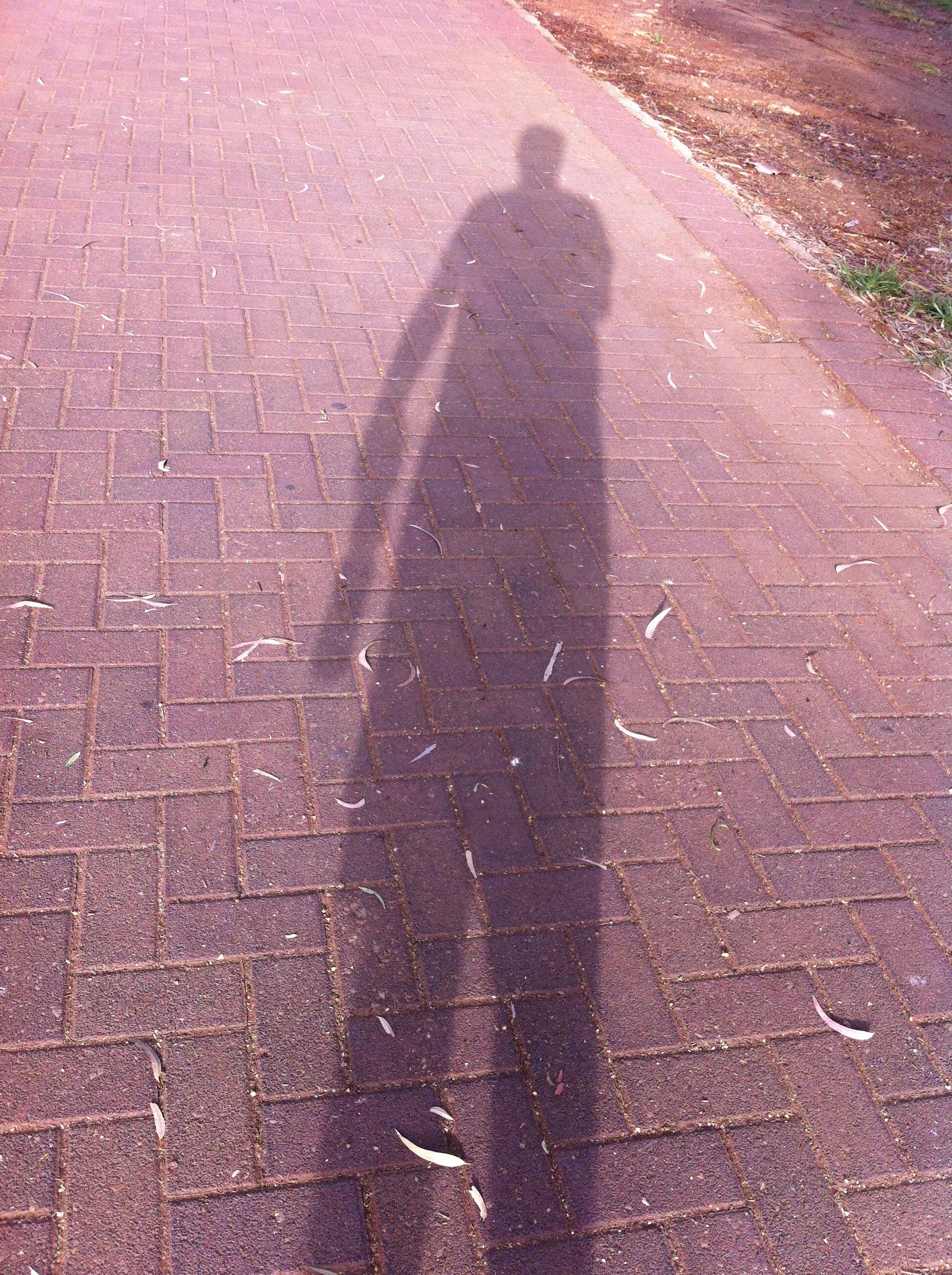 My ominous shadow