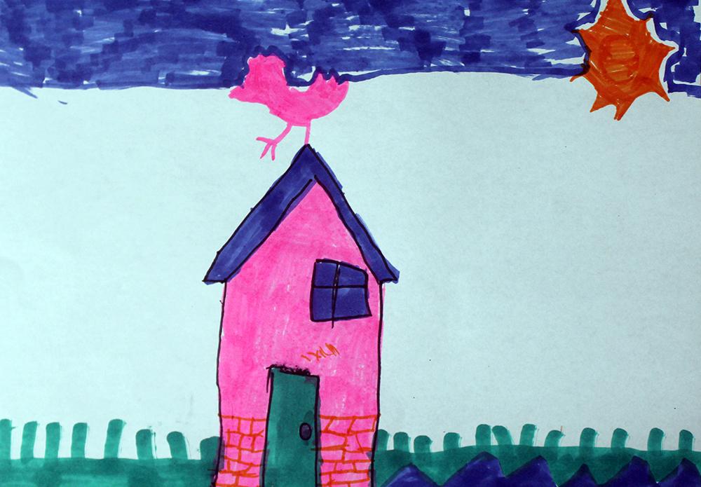 Artwork from the book - ילדי סדנאות הקיץ של המכון הטכנולוגי חולון – השועל, הזאב ומושיק הצייד by Mel Rosenberg - מל רוזנברג - Ourboox.com