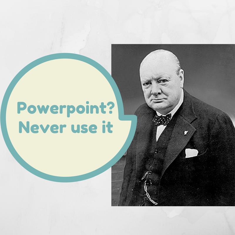 Winston Churchill, a great speaker