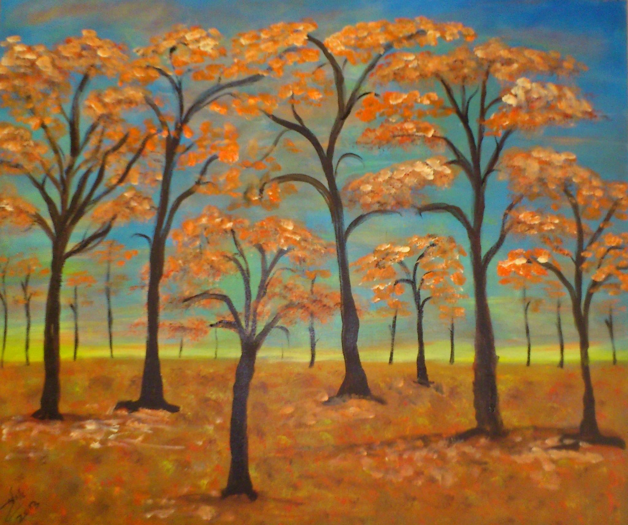 שִׁירַת הָעֵצִים by judy.shiran  - Illustrated by אילנה גיל - Ourboox.com