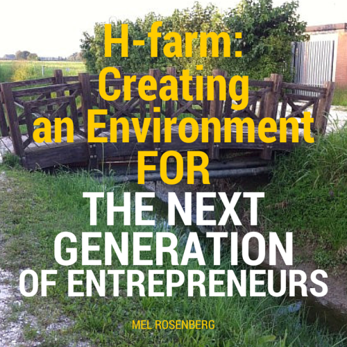 H-farm: Creating an Environment for the Next Generation of Entrepreneurs by Mel Rosenberg - מל רוזנברג - Ourboox.com