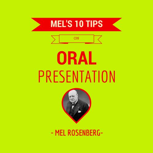 Mel's Ten Tips on Oral Presentations by Mel Rosenberg - מל רוזנברג - Ourboox.com
