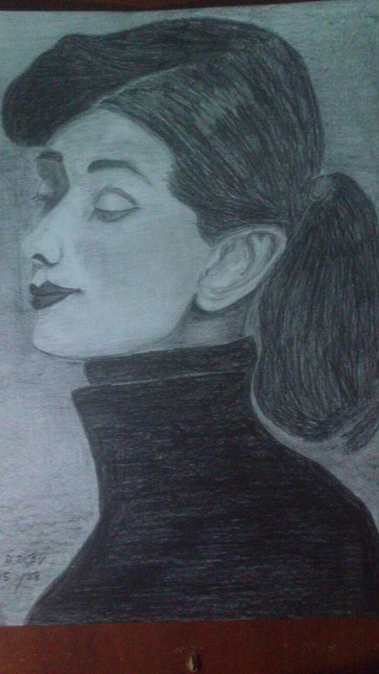 Audrey Hepburn. All rights reserved to Victoria Sara Dazin 2015