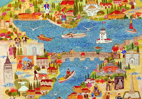 KÜLTÜREL ÇEŞİTLİLİK by Büşra  - Illustrated by Melek Koyulmuş - Esra Çalışkan - Ayşegül Özer - Hatice Yakarca - Büşra Eker - Ourboox.com