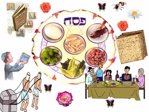 מנהגי חג הפסח by shirly - Ourboox.com