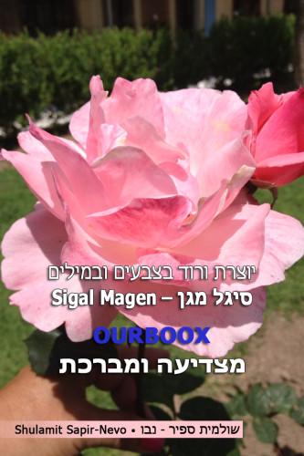 סיגל מגן יוצרת בוורוד צבעים ומילים by Shuli Sapir-Nevo Photo and Motto - Ourboox.com