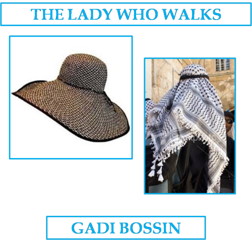 THE LADY WHO WALKS by Gadi Bossin - Ourboox.com