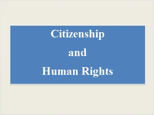 Citizenship and Human Rights by Salih Kaan KALYONCU - Ourboox.com