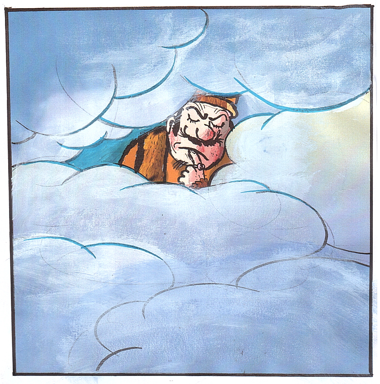 Artwork from the book - Un rege care nu era prea înalt – Illustrations by Danny Kerman by Mel Rosenberg - מל רוזנברג - Illustrated by Danny Kerman - Ourboox.com
