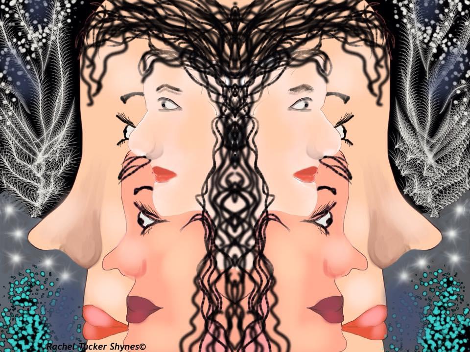 דיגיטלי מעורב תל אביבי by Rachel Tucker Shynes - Illustrated by רחל טוקר שיינס/Rachel  Tucker Shynes - Ourboox.com
