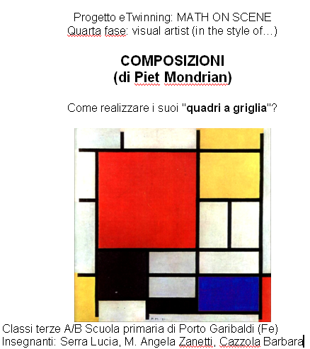 MONDRIAN by Angela Zanetti - Illustrated by Bambini delle classi terze - Ourboox.com