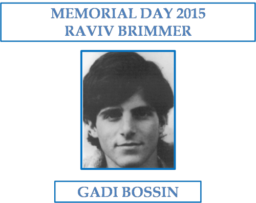 MEMORIAL DAY 2015: RAVIV BRIMMER by Gadi Bossin - Ourboox.com