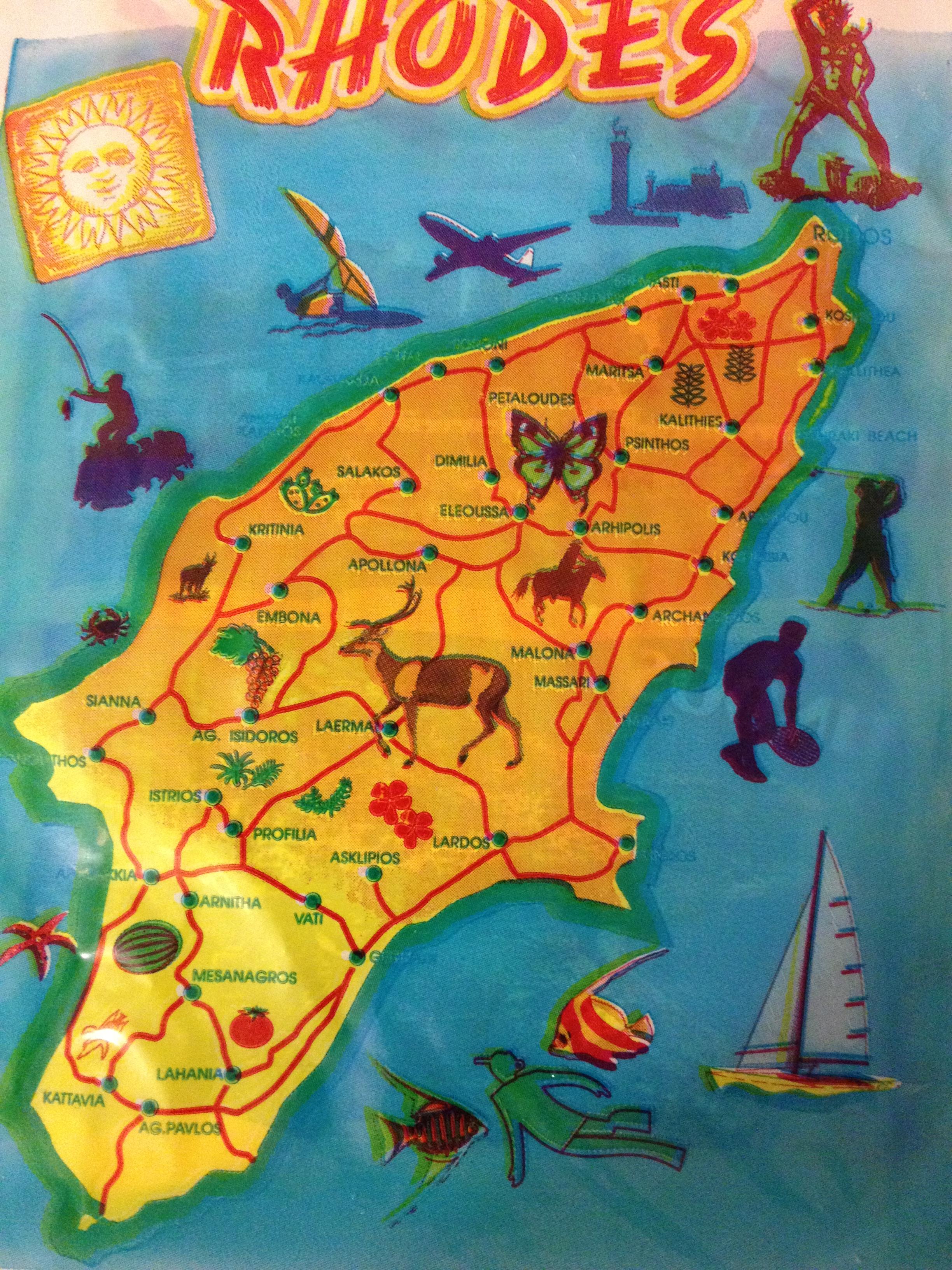 רודוס גן העדן שלי by Shulamit Sapir-Nevo - Illustrated by שולמית ספיר-נבו - Ourboox.com