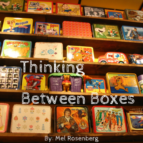 Thinking Between Boxes by Mel Rosenberg - מל רוזנברג - Illustrated by Cover By Miki Peled - Ourboox.com