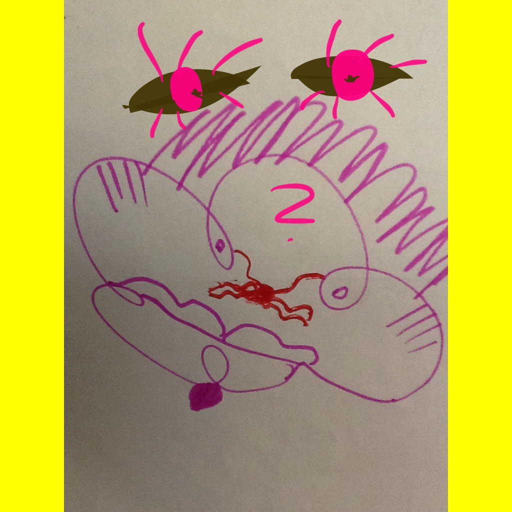 """הציור של מוסא by Sigal Magen - Illustrated by """"סיגל מגן, תלמידי קורס """"ניצוץ""""ובית ספר """"עלומים"""" - Ourboox.com"""