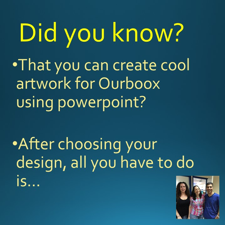 Artwork from the book - Using Powerpoint to Create Great Artwork on Ourboox by Mel Rosenberg - מל רוזנברג - Ourboox.com