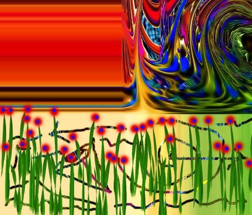 "Artwork from the book - יופי ודיסונאנס – אלם עתיד למראית הווה: מו""מ משמים – אגודת הסופרים by Yoged Amnon - יגודז"