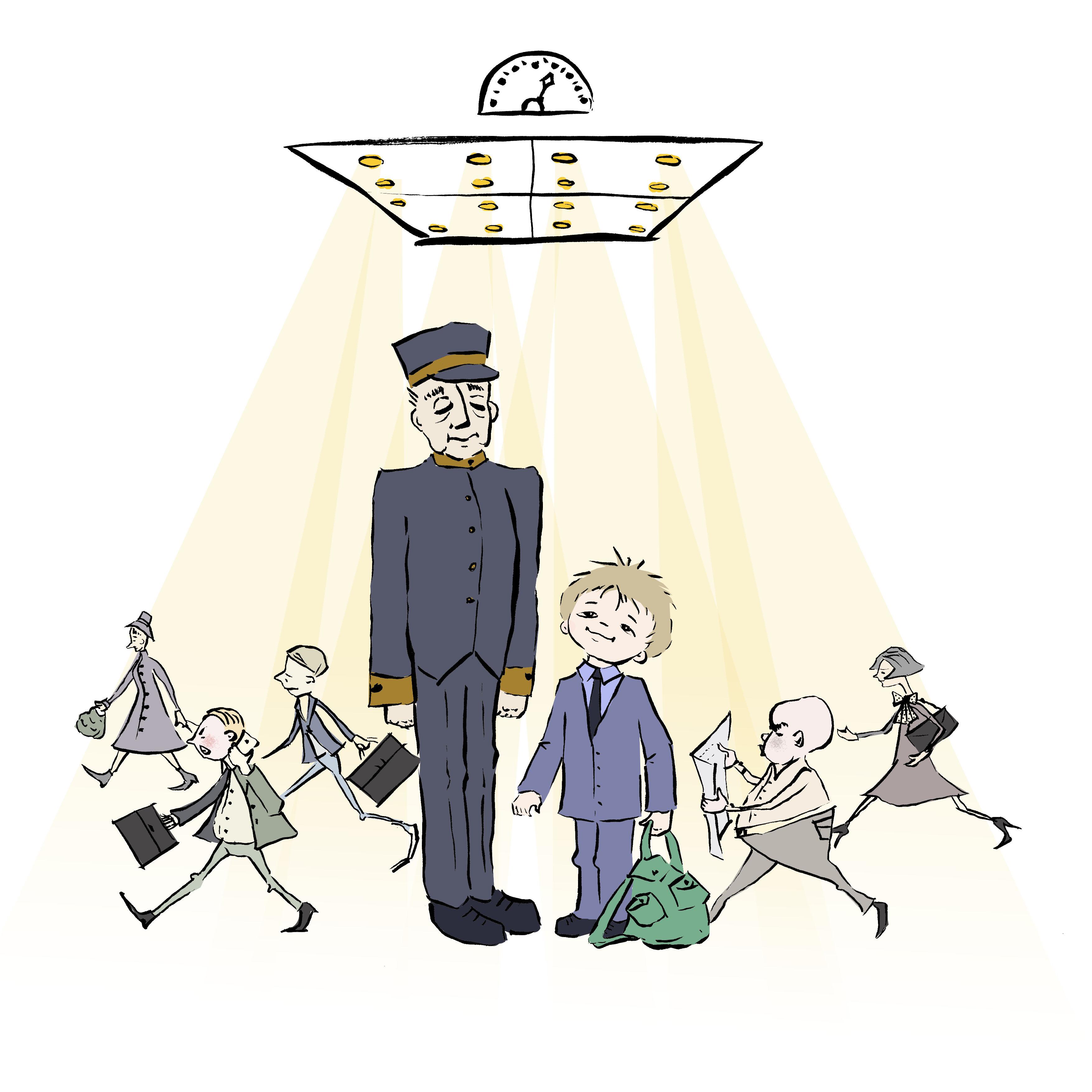 – The Elevator and the Banana (Hebrew Version) המעלית והבננה. כתב: מל רוזנברג – Artwork by Irena Brodeski by Mel Rosenberg - מל רוזנברג - Illustrated by Irena Brodeski - Ourboox.com