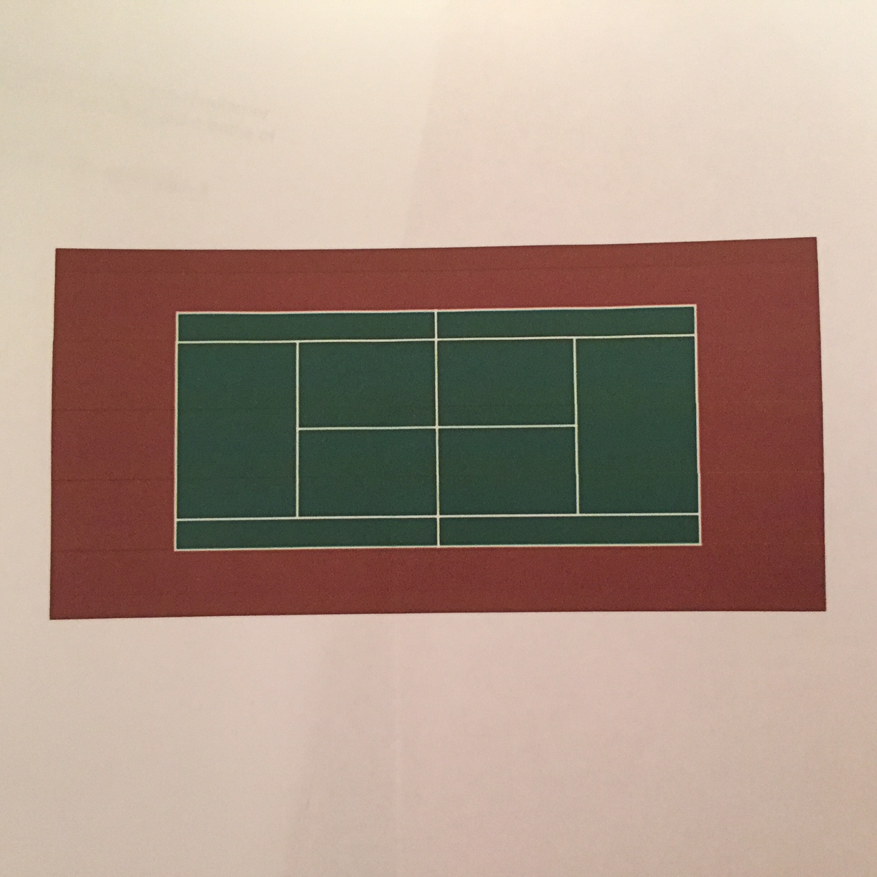Artwork from the book - Tennis Etiquette – The Line by Stephen Pohlmann - Ourboox.com