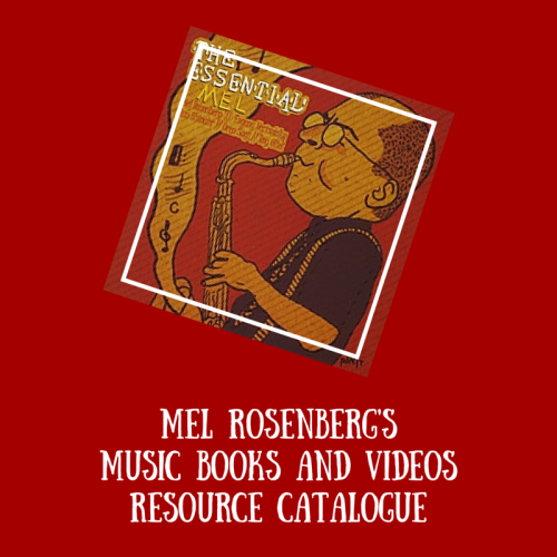 Mel Rosenberg's Music Books and Videos Resource Catalogue by Mel Rosenberg - מל רוזנברג - Ourboox.com