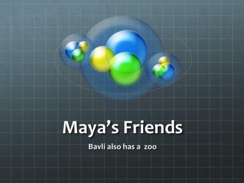 Maya's Friends by Stephen Pohlmann - Ourboox.com