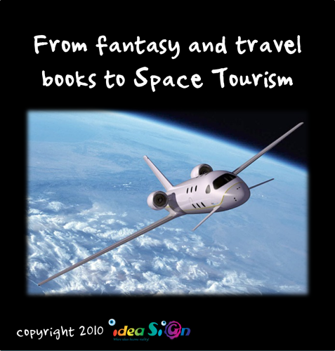 From fantasy and travel books to Space Tourism by Galorian  - Illustrated by Galorian - Ourboox.com