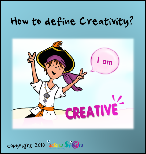How to define Creativity? by Galorian  - Illustrated by Galorian - Ourboox.com