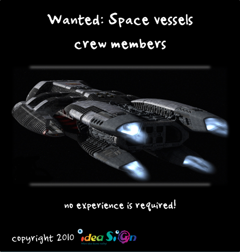 Wanted: Space vessels crew members, no experience is required! by Galorian  - Illustrated by Galorian - Ourboox.com