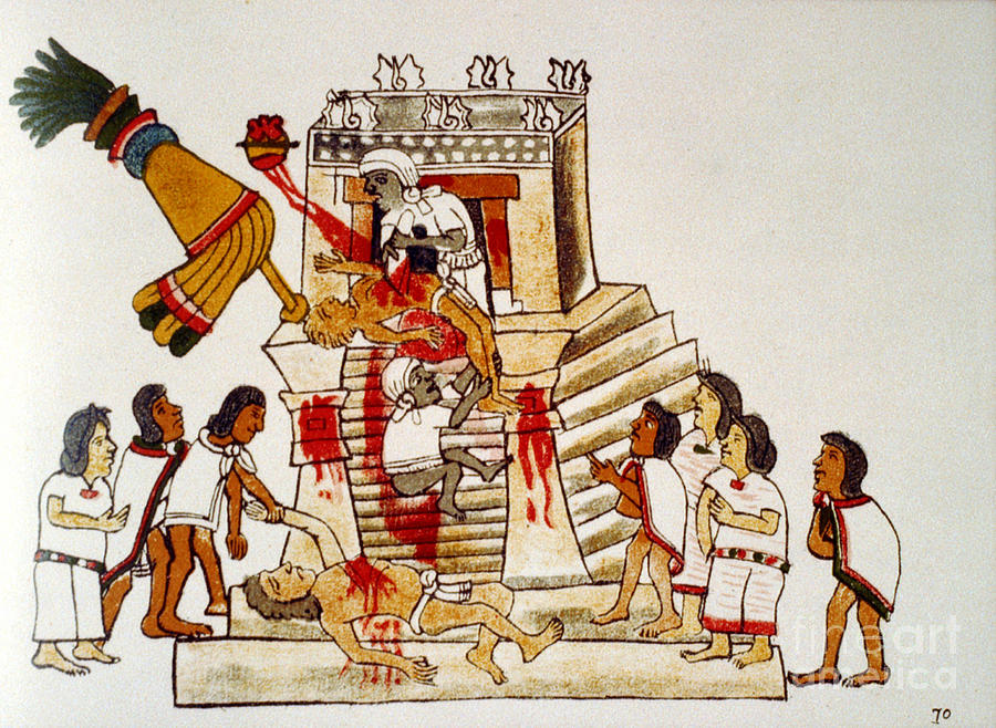 The Rise and Fall of the Aztecs by Group Project - Illustrated by Aidan Klatt, Thalia Lopez, and Melissa Kajtazovic - Ourboox.com