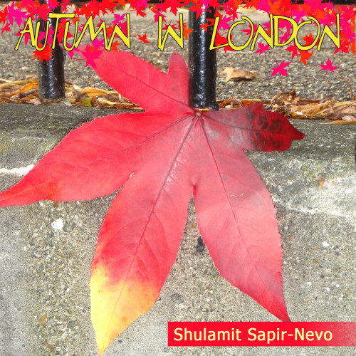 Artwork from the book - Autumn in London by Shuli Sapir-Nevo Photo and Motto - Illustrated by Shulamit Sapir-Nevo - Ourboox.com